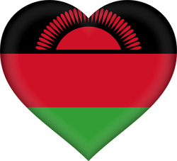 Malawi flag vector - free download