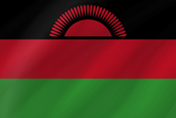 Drapeau du Malawi - Vague