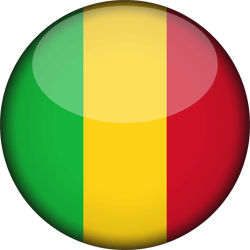 Mali flag icon - free download