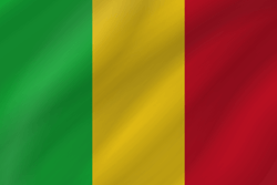 Drapeau du Mali - Vague