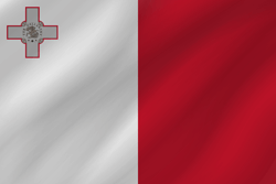 Flag of Malta - Wave
