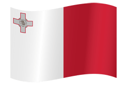 Flag of Malta - Waving
