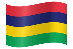 Mauritius flag vector - free download