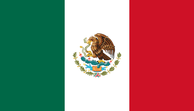 Mexico vlag package