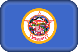 Flag of Minnesota - 3D