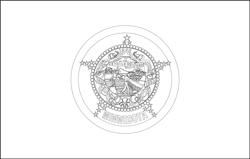 Vlag van Minnesota - A4