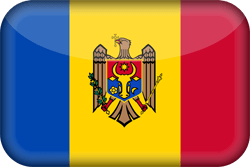 Flag of Moldova - 3D
