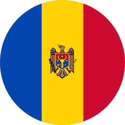 Flag of Moldova - Round