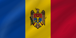 Flag of Moldova - Wave