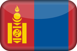 Flagge der Mongolei Vektor - Gratis Download