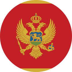 Montenegro flag icon - free download
