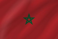 Flag of Morocco - Wave