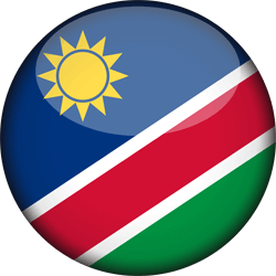Namibia flag icon - free download