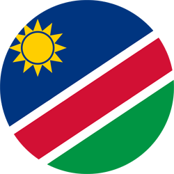 Flagge von Namibia Vektor - Gratis Download
