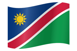 Flagge von Namibia Icon - Gratis Download