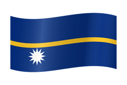Nauru flag icon - free download