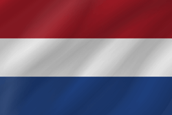 Flag of the Netherlands - Flag of Holland - Wave