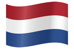 Flag of the Netherlands - Flag of Holland - Waving