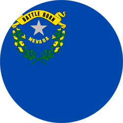 Flag of Nevada - Round