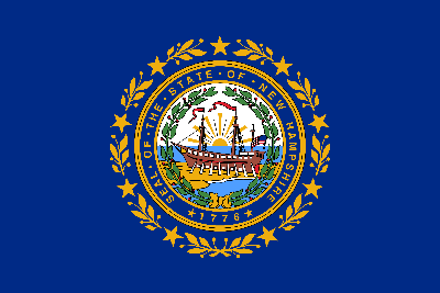 Flagge von New Hampshire Emoji  - Gratis Download