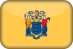 Flag of New Jersey - 3D