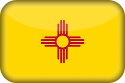 Flag of New Mexico - 3D