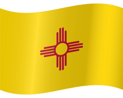 New Mexico flag image  - free download