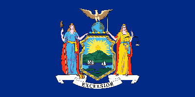 New York flag image  - free download