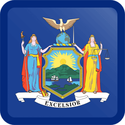 Flagge von New York Emoji  - Gratis Download