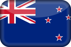 New Zealand flag icon - free download