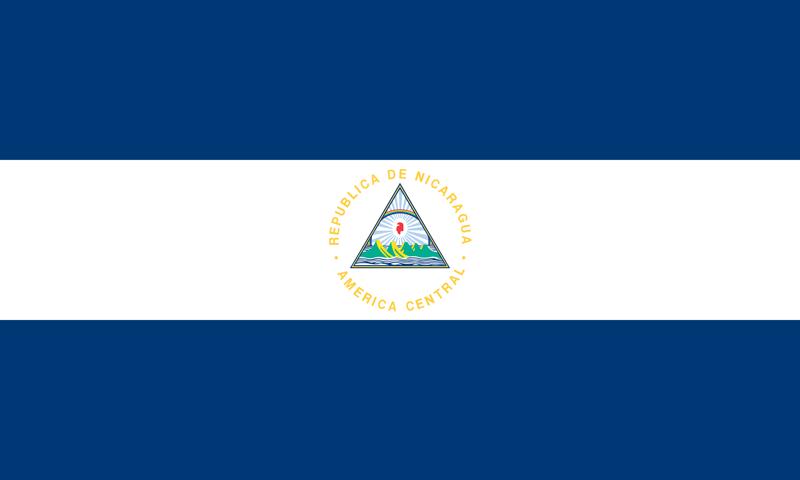 Nicaragua vlag package