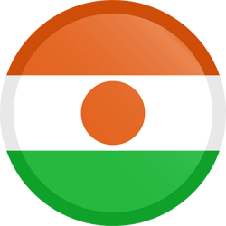Niger vlag icon - gratis downloaden