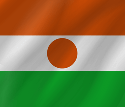 Drapeau du Niger - Vague