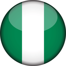 Nigeria vlag icon - gratis downloaden