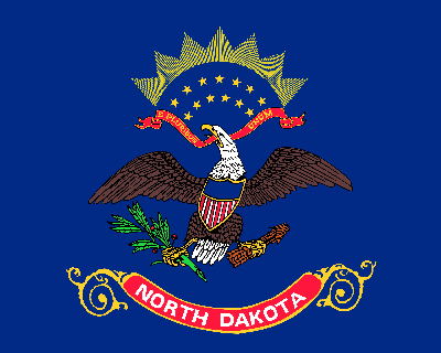 Flag of North Dakota - Original