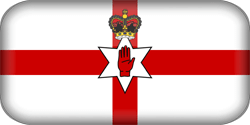 Flag of Northern Ireland - 3D