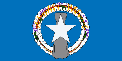 Flag of Northern Mariana Islands - Original