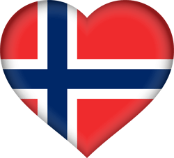 Flagge von Norwegen Bild - Gratis Download