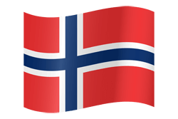 Norway flag vector - free download