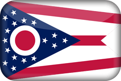 Flag of Ohio - 3D