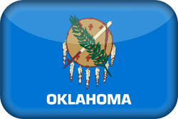 Flag of Oklahoma - 3D