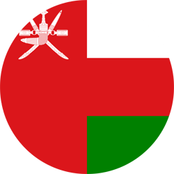 Flag of Oman - Round