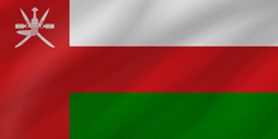 Flag of Oman - Wave