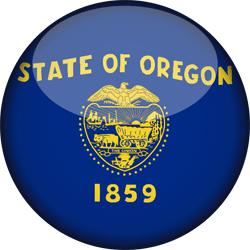 Oregon flag icon - free download