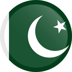 Flagge von Pakistan Clipart - Gratis Download