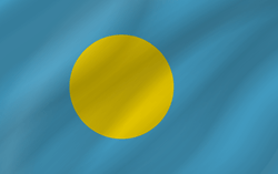 Flagge von Palau Bild - Gratis Download