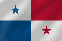 Flag of Panama - Wave