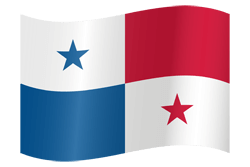 Flag of Panama - Waving