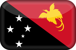 Flagge von Papua-Neuguinea Icon - Gratis Download