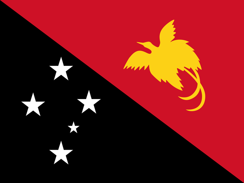 Papua New Guinea flag package